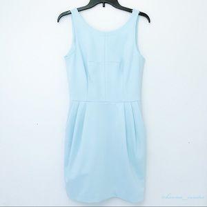 Club Monaco Sleeveless Pleated Tulip Skirt Dress